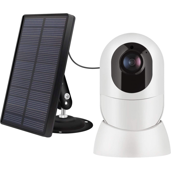 Vuebee Battery Powered Security Camera with Solar Panel-sq